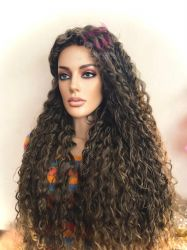 Wig cacheada Ana BioFibra
