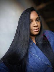 Lace wig Amber duquesa ultrasoft reparticao fixa