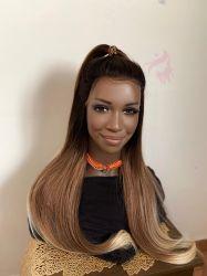 Shade Browns Lace wig  HD Amber duquesa ultrasoft reparticao fixa
