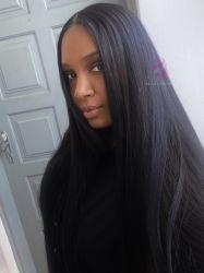 Lace wig  HD premium  Lílian  preto 1b
