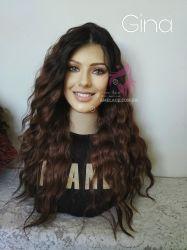 Acaju  Lace wig silk top premium Gina Ondulado